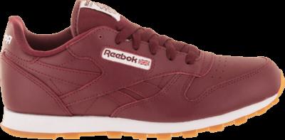 Reebok Classic Leather GS 'Merlot' Red CN1278