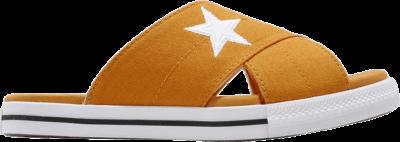 Converse Wmns One Star Slide 'Sunflower' Yellow 565529C
