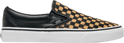 Vans Classic Slip-On 'Calf Hair Checkerboard' Orange VN0A38F7U761