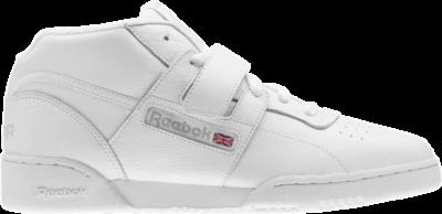 Reebok Workout Clean Mid Strap MU 'White' White CN3915