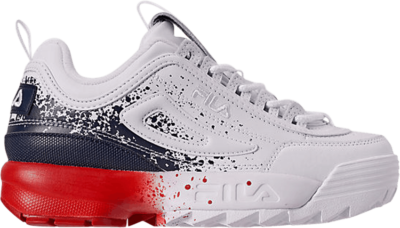 Fila Disruptor 2 Kids 'Splatter Navy White' Blue 3FM00731-125