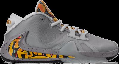 Nike Zoom Freak 1 GS 'Graffiti' Silver BQ5633-005