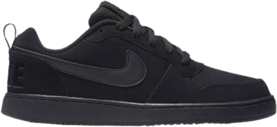 Nike Court Borough Low 'Triple Black' Black 838937-001