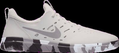 Nike Nyjah Free Premium SB 'Platinum Thunder Grey' Grey AO0805-001