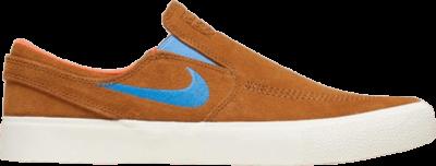 Nike Zoom Janoski Slip RM SB 'Tan Blue' Tan AT8899-201