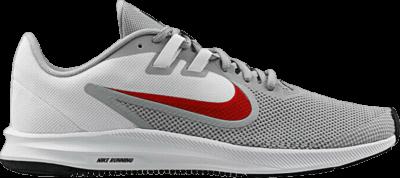 Nike Downshifter 9 'Wolf Grey Red' Grey AQ7481-006