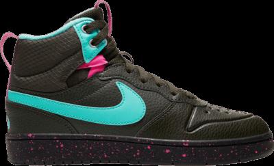 Nike Court Borough Mid 2 Boot GS 'Miami Vice' Black BQ5440-300