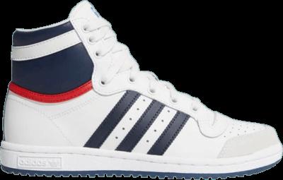 adidas Top Ten High J 'White Dark Blue' White D74481