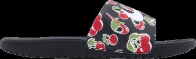 Nike Kawa Slide SE Picnic GS 'Cherry' Black CJ4123-001