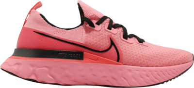 Nike React Infinity Run Flyknit 'Bright Melon' Pink CD4371-800