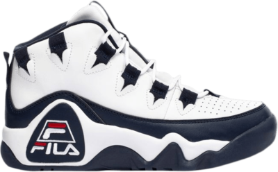 Fila Grant Hill 1 Kids 'White Navy' White 3BM00628-125