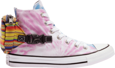 Converse Wmns Chuck Taylor All Star High 'Buckle Up – Rainbow Tie-Dye' Multi-Color 568264C
