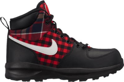 Nike Manoa SE GS 'Plaid' Black AR1703-001