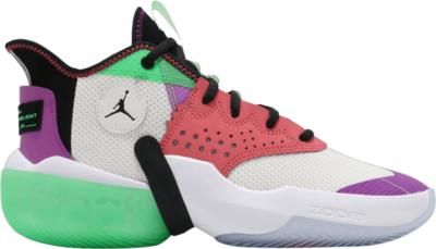 Air Jordan Jordan React Elevation PF 'White Hyper Violet' White CK6617-101