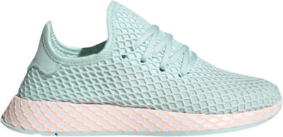 adidas Deerupt Runner J 'Ice Mint Orange' Green CG6841