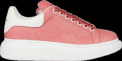 Alexander McQueen Wmns Oversized Sneaker 'Bright Glitter – Magnolia' Pink 558944-W4LV1-9243