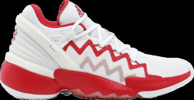 adidas D.O.N. Issue #2 'White Scarlet' White FX9429