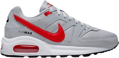 Nike Air Max Command Flex GS 'Wolf Grey Track Red' Grey 844346-004