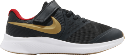 Nike Star Runner 2 PSV 'Dark Smoke Grey Gold' Grey AT1801-010