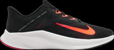 Nike Quest 3 'Black Total Orange' Black CD0230-011