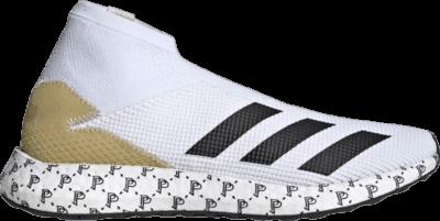 adidas Paul Pogba x Predator 20.1 Trainers 'White Gold Metallic' White EH2971