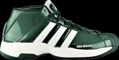 adidas Pro Model 2G Team 'Dark Green' Green FV7052