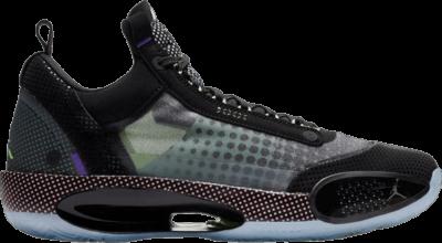 Air Jordan 34 GS 'Halftone Dots' Black BQ3384-013