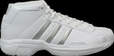 adidas Pro Model 2G Team 'White Light Solid Grey' White FV7049