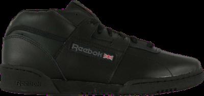 Reebok Workout Mid 'Black Charcoal' Black DV4577