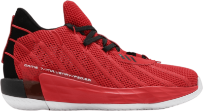 adidas Dame 7 GCA ' Lillard Time' Red FZ0206