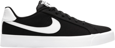 Nike Wmns Court Royale AC Canvas 'Black White' Black CD5405-001