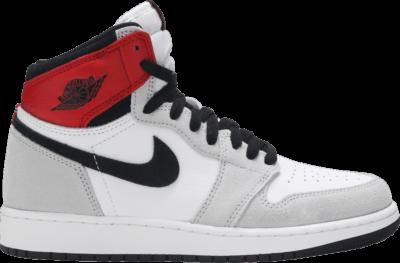 Air Jordan 【免邮优惠】Air Jordan 1 Retro High OG GS 'Smoke Grey' Grey 575441-126-WECHAT-DS
