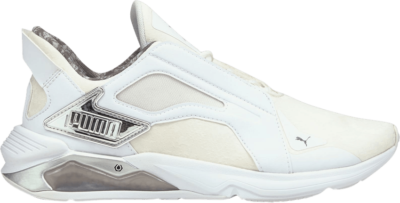 Puma Wmns LQDCELL Method 'Untamed – White Silver' White 194437-01