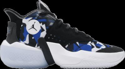 Air Jordan Jordan React Elevation PF 'Fractal Pattern – Black Racer Blue' Blue CK6617-004