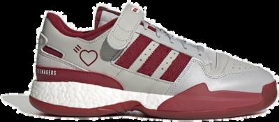 "adidas Originals x HUMAN MADE FORUM LOW ""BURGUNDY"" S42977"