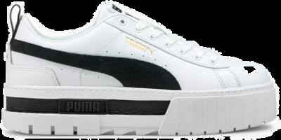 Puma Mayze Leather White 36 White 381983 001