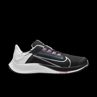 Nike Air Zoom Pegasus 38 FlyEase Black White Chlorine Blue DA6674-002