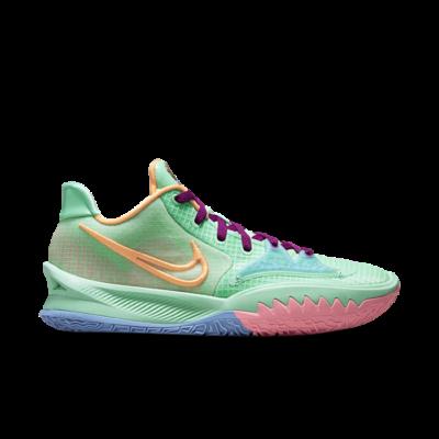 Nike Kyrie Low 4 Green Glow/Atomic Orange-Red Plum Array CW3985-300