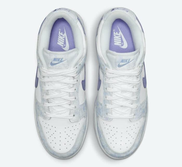 purple Nike Dunk Low pulse