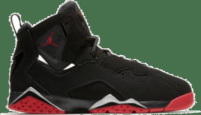 Jordan True Flight Black Gym Red Metallic Silver (PS) 343796-003