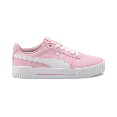 Puma Carina canvas sneakers dames Roze / Wit 368669_06