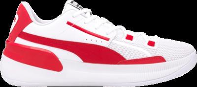 Puma Clyde Hardwood Team 'High Risk Red' White 194454-04