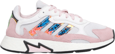 adidas Tresc Run J 'White Pink Iridescent' Pink EH1083