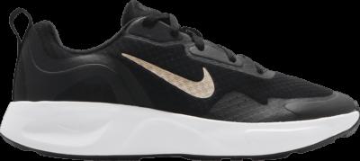 Nike Wearallday GS 'Black Metallic Gold' Black CJ3816-005