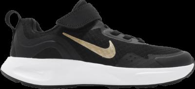 Nike Wearallday PS 'Black Metallic Gold' Black CJ3817-005