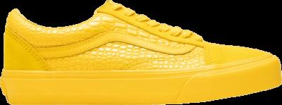 Vans Old Skool VLT LX 'Croc Skin – Lemon Chrome' Yellow VN0A4BVF2TR
