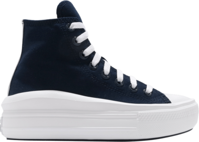 Converse Wmns Chuck Taylor All Star Move High 'Anodized Metals – Obsidian' Blue 570261C
