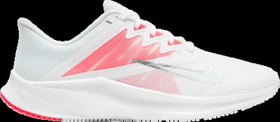 Nike Wmns Quest 3 'White Bright Crimson' White CD0232-105