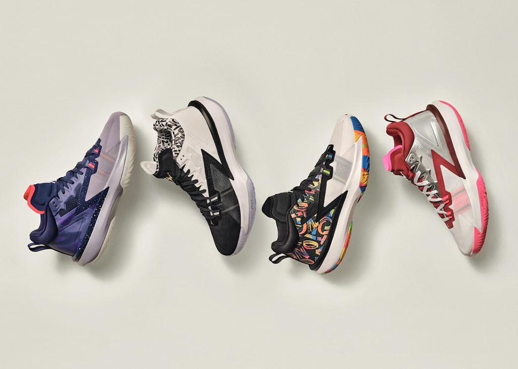Air Jordan onthult de eerste signature schoenenlijn van NBA ster Zion Williamson