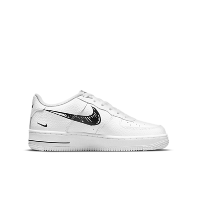 """Nike AIR FORCE 1 LOW GS """"WHITE"""" DM3177-100"""